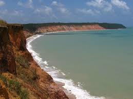 Praia de Carro Quebrando, na Ilha da Croa, em Barra de Santo Antônio (Foto: divulgação)